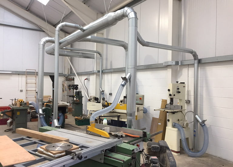 Dust and Fume Extraction Systems - Air Plants